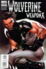 Wolverine Weapon X #1 Coipel 1:20 Retail Variant Cover (2009) Marvel comic book